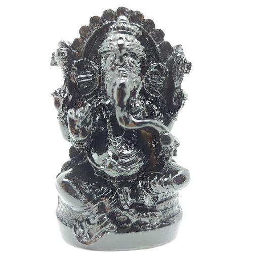 Ganesha no Trono 10cm resina