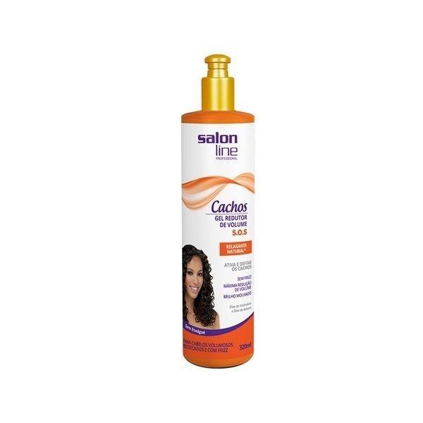 Salon Line Gel Relaxante Redutor De Volume S.O.S Natural 320ml