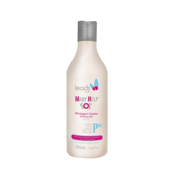 Leads Care Máscara Mary Help SOS Blindagem Capilar - 500ml