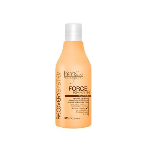 Forever Liss Shampoo Restaurador Hidratante Force Repair 300ml