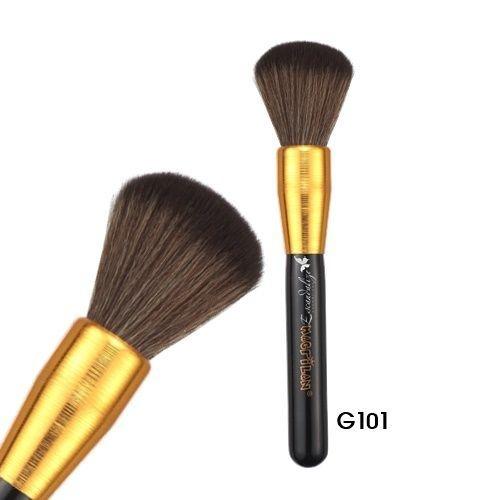 Pincel para pó facial Linha Gold Macrilan Profissional G101