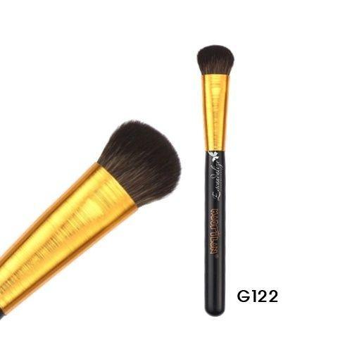 Pincel p/ Pó e Iluminador Linha Gold Macrilan Profissional G122