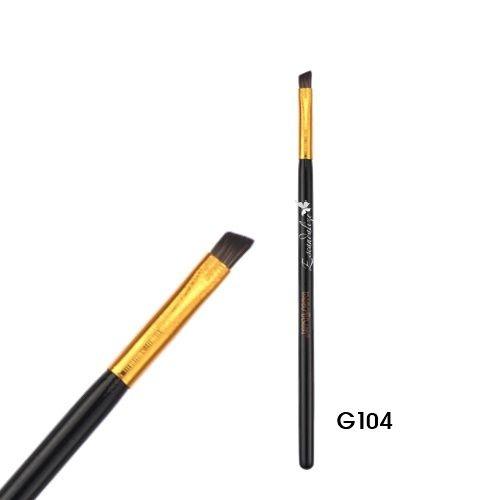 Pincel chanfrado Delinear Linha Gold Macrilan Profissional G104