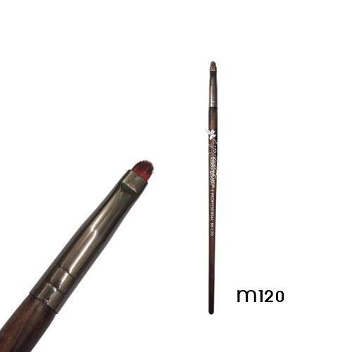 Pincel Precisão Delinear Linha Madeira Macrilan Profissional M120