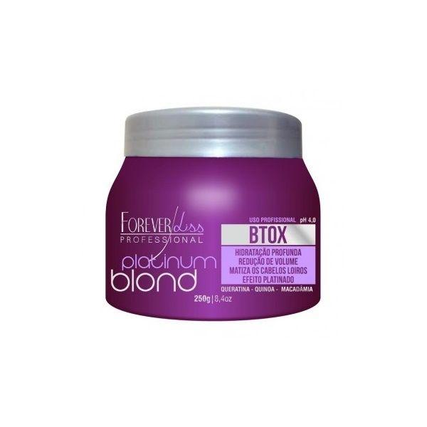 Forever Liss Botox Matizador Intensive Platinum Blond 250g