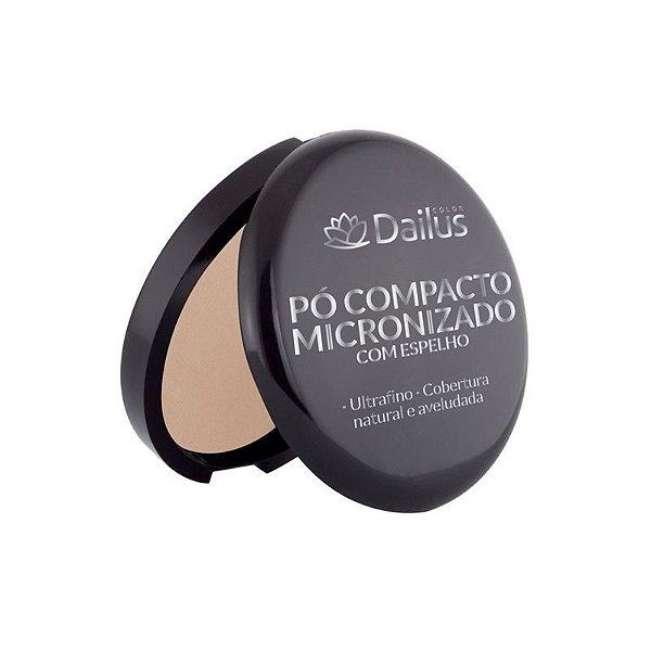 Dailus Pó Compacto Micronizado Ultrafino com Espelho