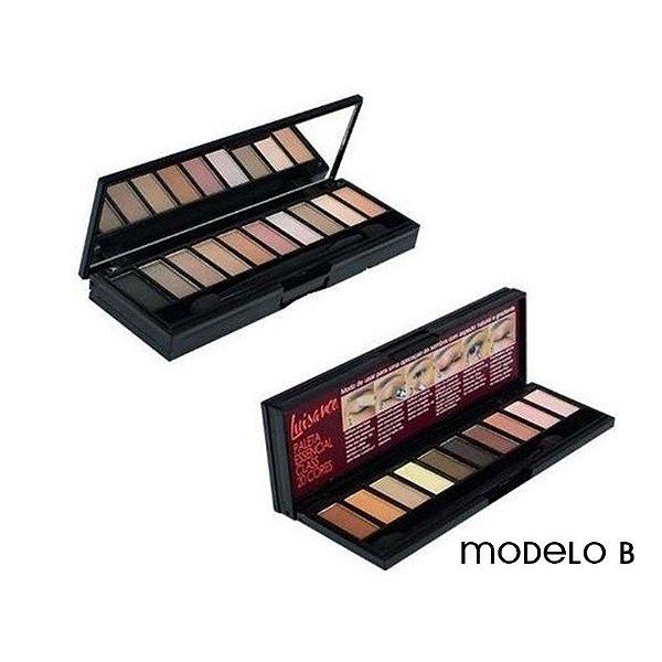 Paleta de Sombras Neutras Essencial Luisance 20 cores Modelo B