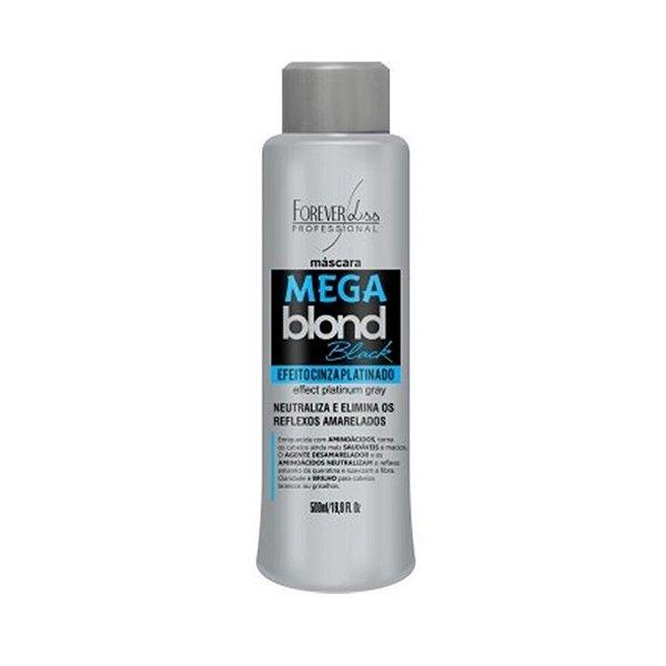Forever Liss Matizador Mega Blond Black Efeito Cinza 500ml