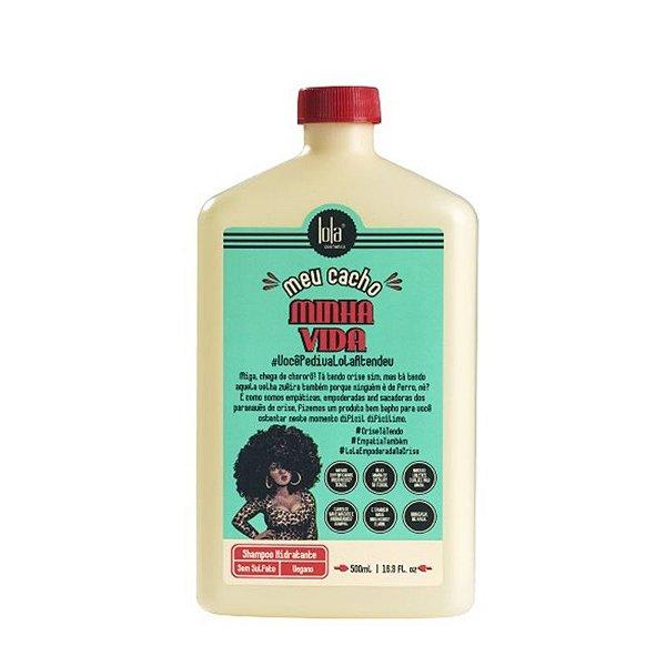 Lola Shampoo Sem Sulfato Hidratante Meu Cacho Minha Vida 500ml