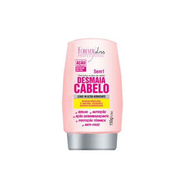 Forever Liss Desmaia Cabelo Leave-in Ultra Hidratante 5 em 1 150g