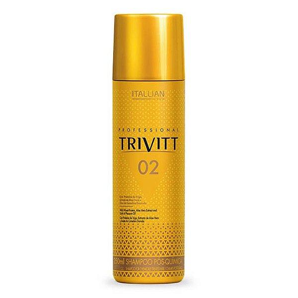 Trivitt 02 Shampoo Pos Quimica Itallian HairTech 250ml