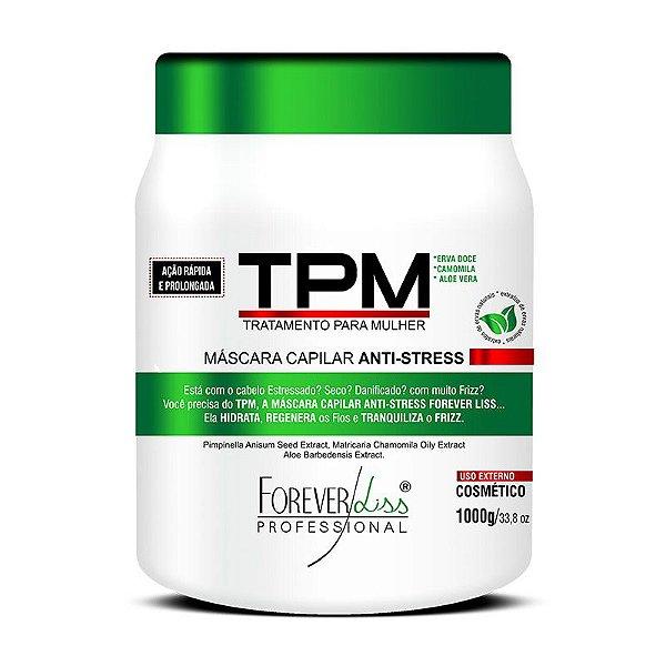 TPM Forever Liss Máscara  Anti Stress Capilar Hidratante 1Kg