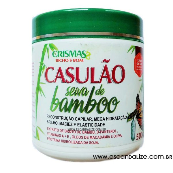 Creme de Hidratação Extratos Naturais Casulão Seiva de Bamboo 500g