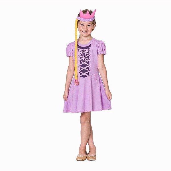 Fantasia Princesa Rapunzel