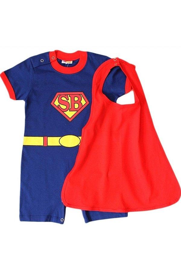Fantasia Super Bebê