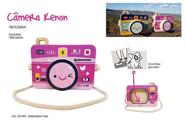 Câmera Kenon Rosa