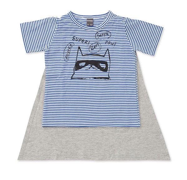Camiseta com Capa Gato