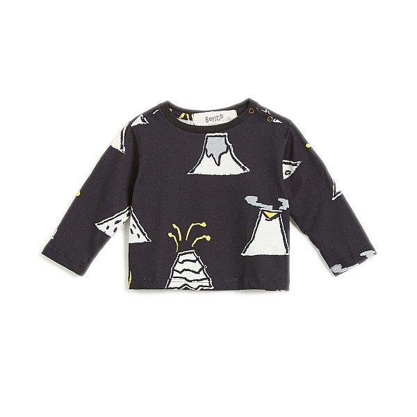 Camiseta Ilha do Vulcão Baby