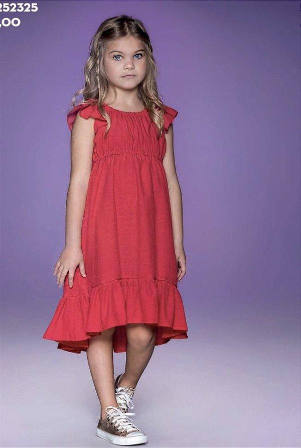 Vestido Stambul Vermelho