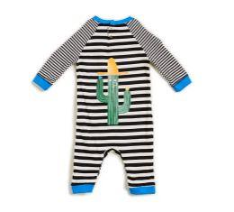 Macacão BB Malha Listra Cactus