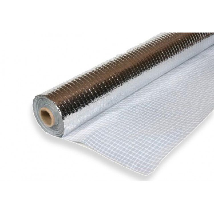 Manta Térmica Face Única Aluminizada - Rolo 75 M²