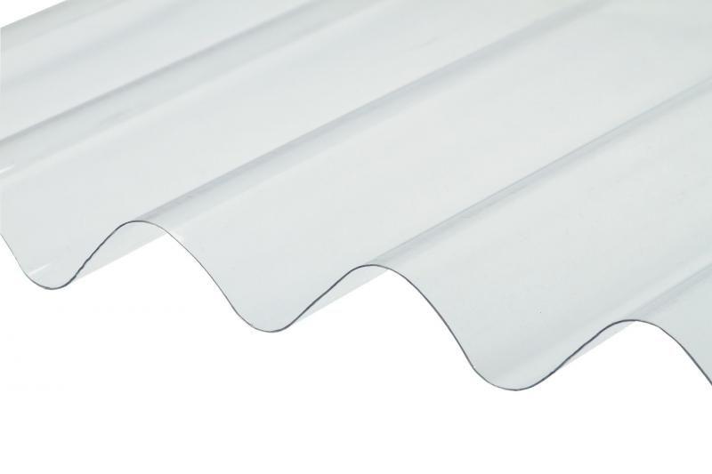 Telha Translúcida de Fibra de Vidro 2,44x1,10m
