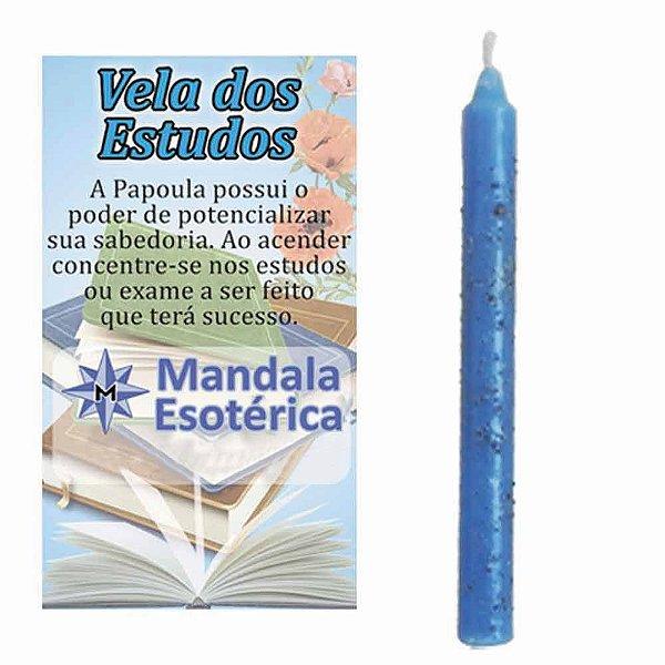 Vela Azul dos Estudos Esotérica com Papoula