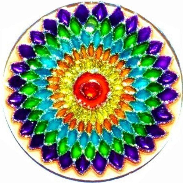 Mandala Arco-iris Grande