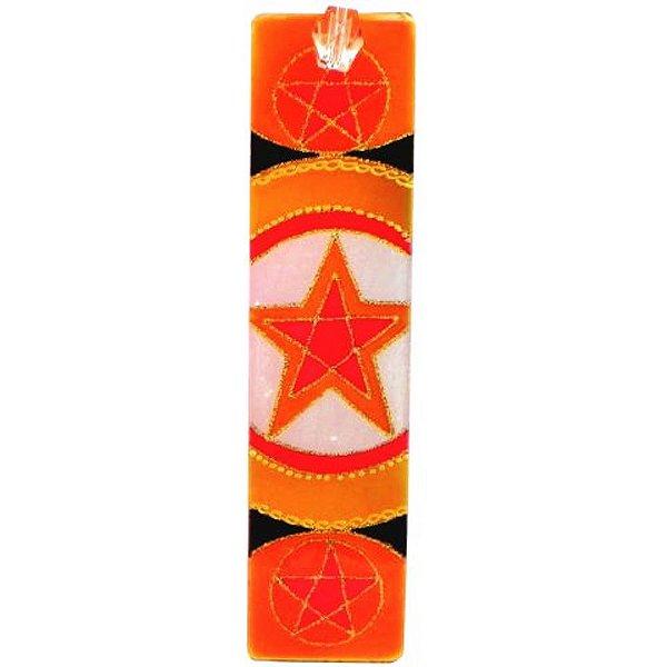 Incensário régua pentagrama