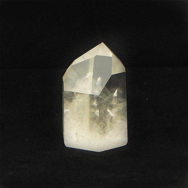 Ponta de quartzo cristal