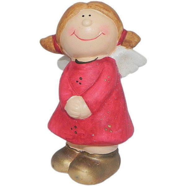Anjo de Natal Vermelho-A
