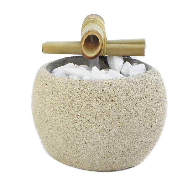 Fonte D'agua cimento celular redonda