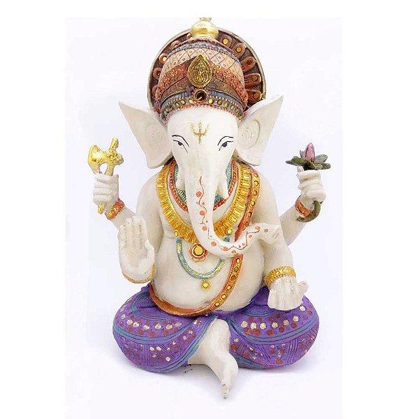 Ganesha de Resina Sentado