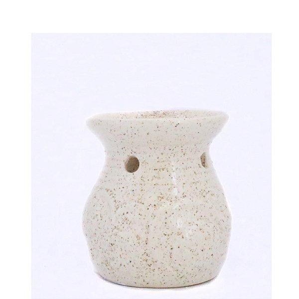 Rechô de Cerâmica com Flores em Relevo