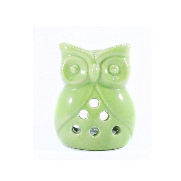 Rechô de Cerâmica de Coruja - Verde