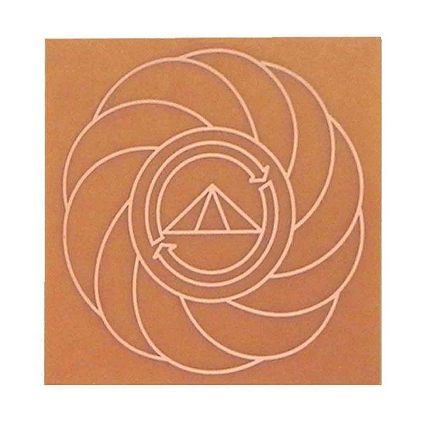 Placa Turbilhão Com Prosperador - Fenolite