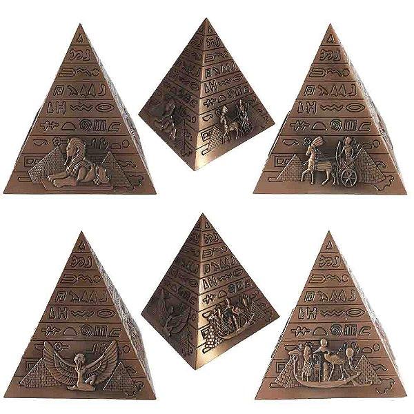 Piramide Isis Hieroglifos - Bronze