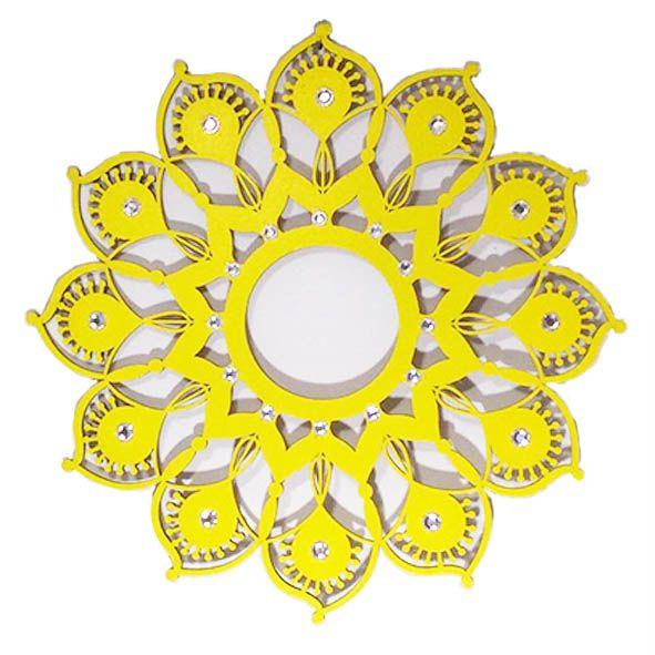 Mandala Girassol em MDF