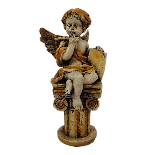 Anjo Sentado na Coluna