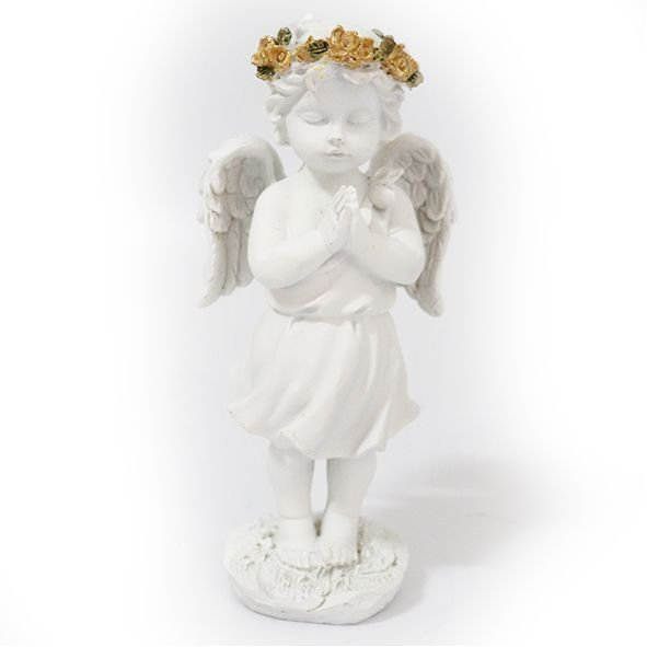 Anjo Branco Orando