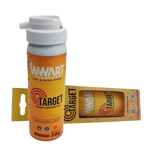 Spray de Autodefesa Target com Marcador Azul