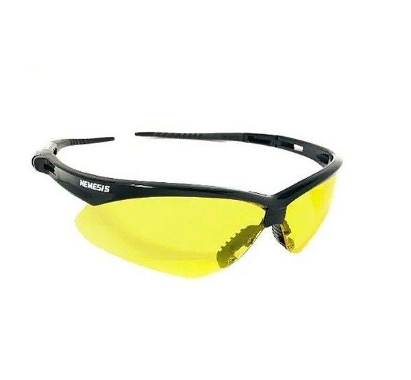 Oculos de Proteção Antiembassante Nemesis Ambar / Amarelo