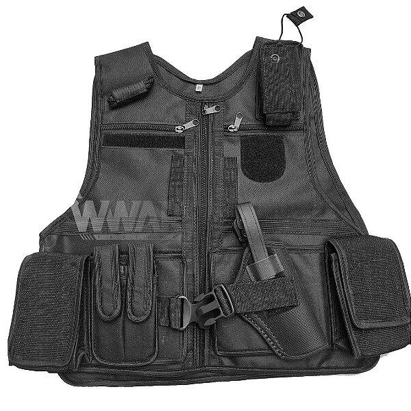 Colete Operacional X-Tudo WWART - Policia Militar Segurança Vigilante Escolta