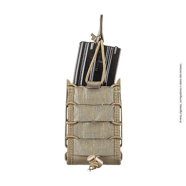 Porta Carregador de Fuzil Modular Coyote Invictus Reload 5.56