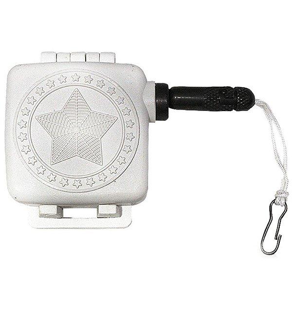 Fiel Retrátil Universal de Caixa Para Revólveres e Pistolas - Branco