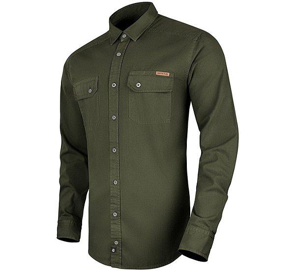 Camisa Invictus Manga Longa Endurance Verde