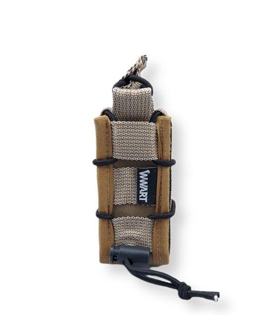 Porta Carregador de Pistola Modular Tan