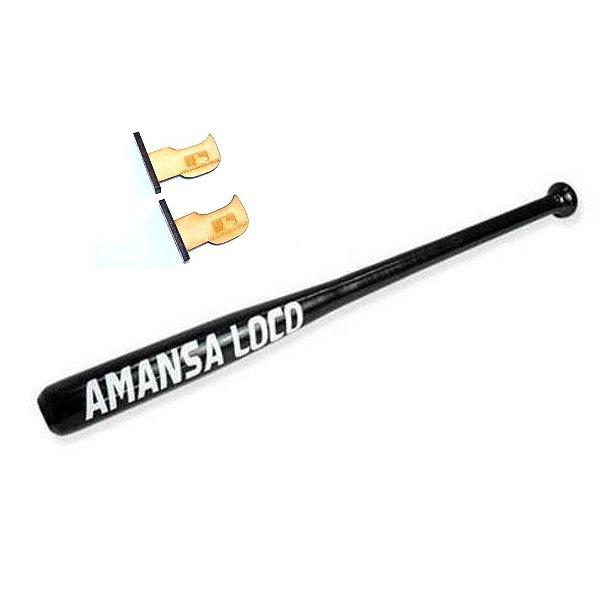 Taco de Baseball Amansa Loco - Madeira Maciça