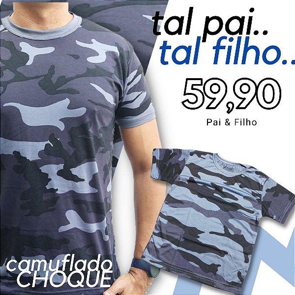 Camisetas Camufladas Tal Pai Tal Filho