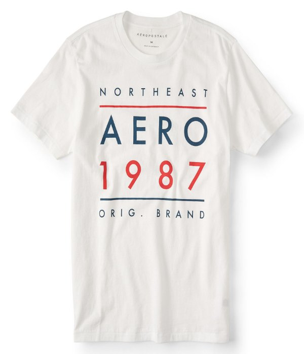 Camiseta Aeropostale Masculina AERO 1987
